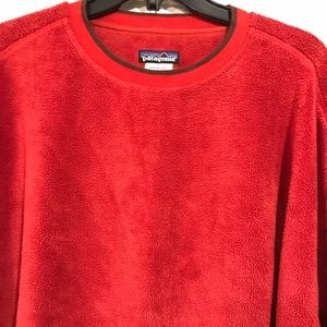 Patagonia Fleece Red Pullover